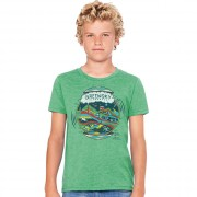 Youth Tee - Geo Design - Green