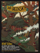Camp Greensky 2018 Treehouse Poster