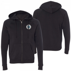 Planet Patch Black Hoodie