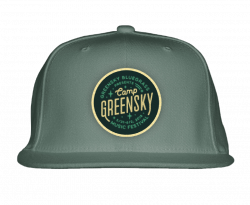 Camp Greensky Flat Brim Trucker