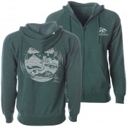 Planet Patch Green Hoodie