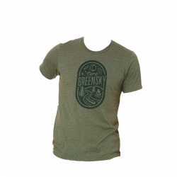 Camp Greensky Unisex Tee - Military Green