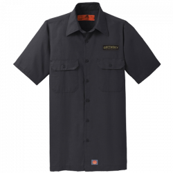 Script Patch Work Shirt - Black