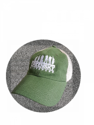 Low profile Trucker Hat - Green