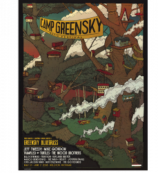 Camp Greensky Treehouse Poster (2018)