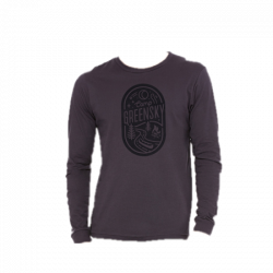 Camp Greensky Unisex Long Sleeve Tee - Dark Gray