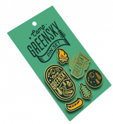Camp Greensky 2018 Pin Set