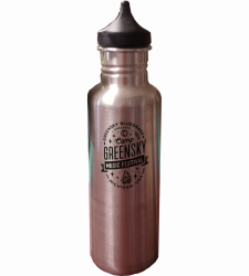 Camp Greensky Klean Kanteen Stainless Steel Water Bottle
