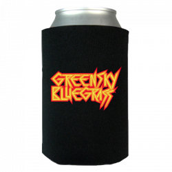 MetalGrass Koozie