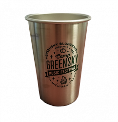 Camp Greensky Klean Kanteen Stainless Steel Pint Cup