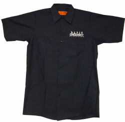 Embroidered Work Shirt (Blue)
