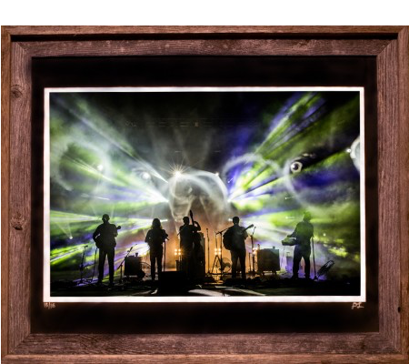 12 X 18 Silhouette Red Rocks 2016 Old Barns Collection