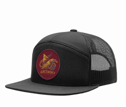 Red Rocks 2019 Black 7-Panel Hat