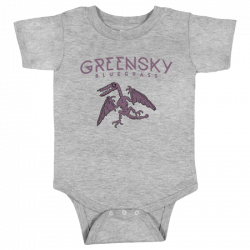 Pterodactyl Onesie - Heather Gray