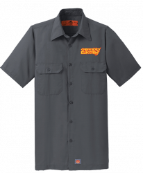 MetalGrass Embroidered Work Shirt