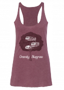 2016 Fall Tour Ladies Tank (Maroon)