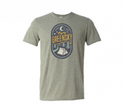 2019 Camp Greensky Unisex Tee - Heather Military Green